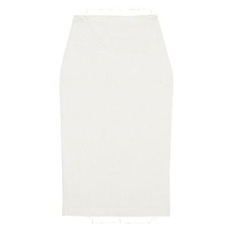 Stretch-Jacquard Pencil Skirt