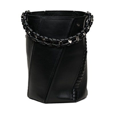 Medium Hex Bucket Bag