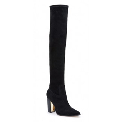 Biancaz Suede Over-The-Knee Boots