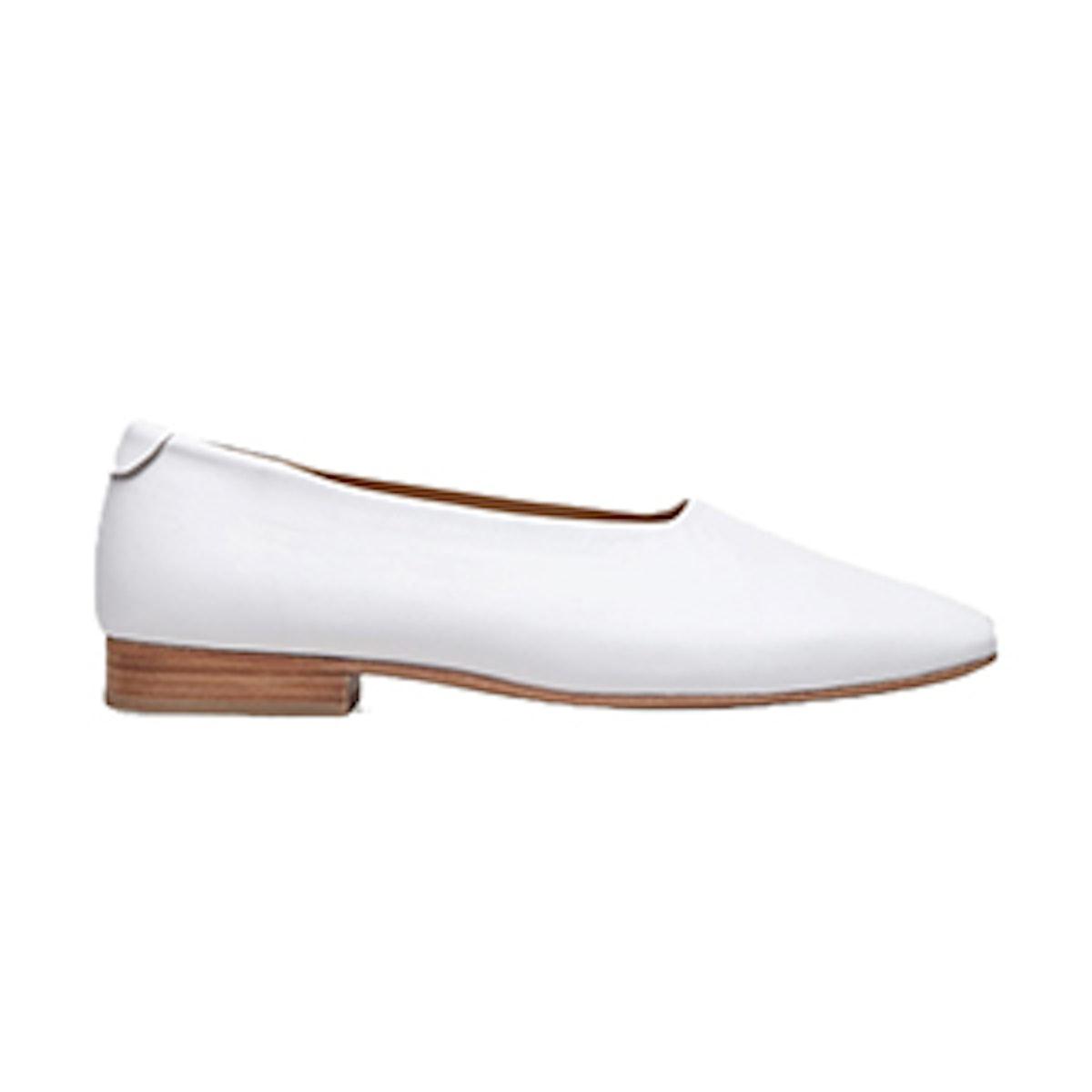 Square-Toe Slip-On Shoes