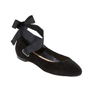 Renee Wrap Ballet Flats