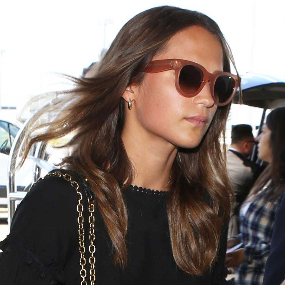 Alicia Vikander Detail: Alicia Vikander's Cute Dress Is From One Of Our Favorite