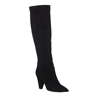 Suede Slouchy Knee Boots