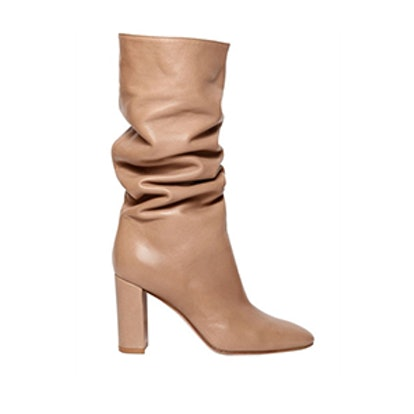 85MM Slouchy Leather Boots