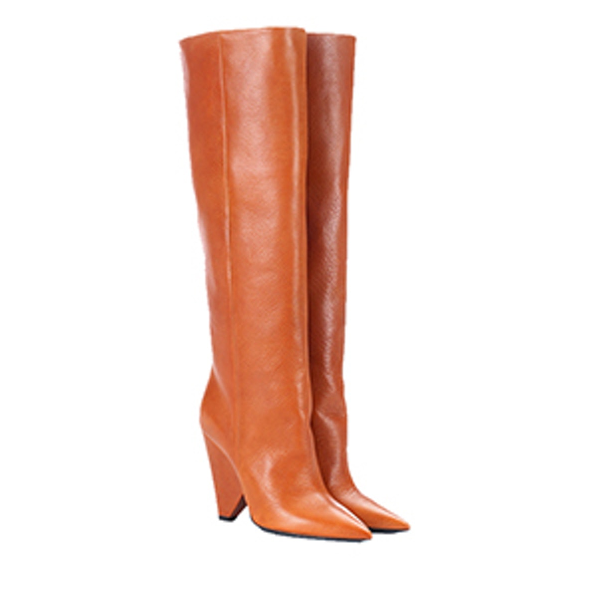 Niki Leather Knee-High Boots