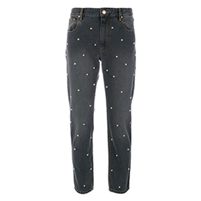 Pearl Detailed Jeans