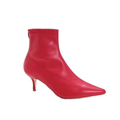 Jessica Low Kitten Heel Pointed Shoe Boots