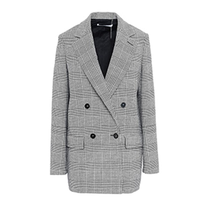 Milly Gray Check Jacket