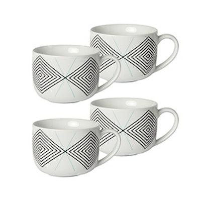16oz. Porcelain Mugs