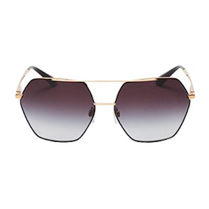 Aviator Sunglasses, 59mm