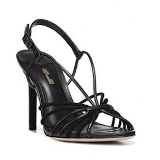 Milena Suede Slingback Sandals