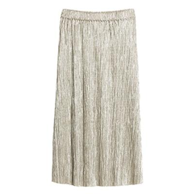 Gilded Pleat Skirt