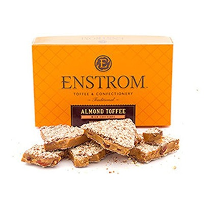 Enstrom Almond Toffee – 1 Lb. Milk Chocolate