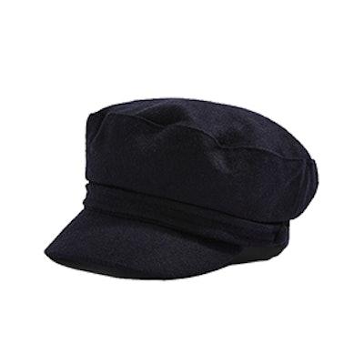Self Fabric Baker Boy Hat