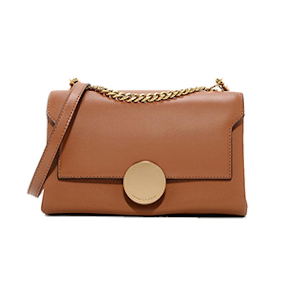 Circular Buckle Handbag