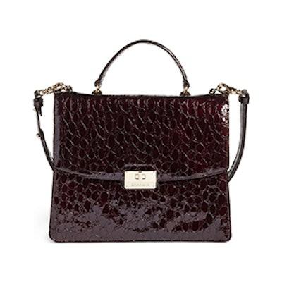 Dante Simone Top Handle Leather Satchel