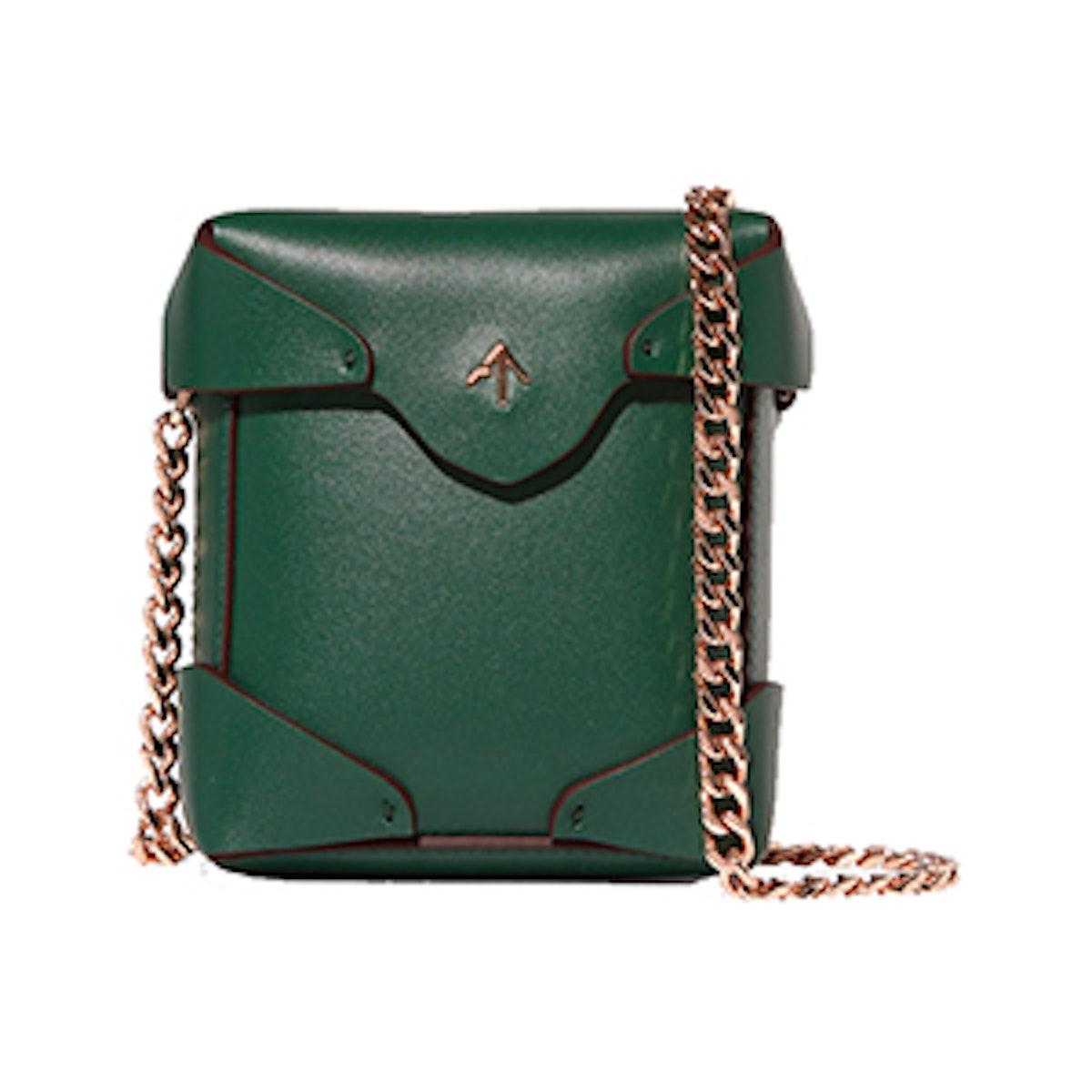 Pristine Micro Leather Shoulder Bag