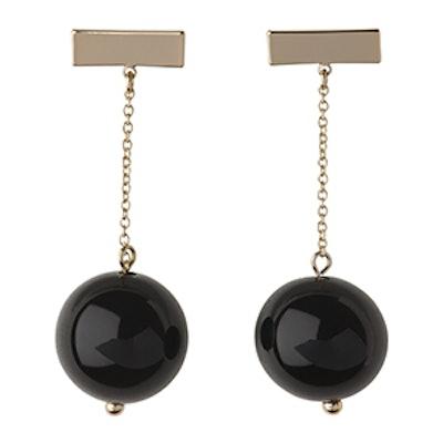 Sphere Chain Drop Earring
