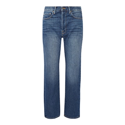 Le Original Cropped High-Rise Straight-Leg Jeans