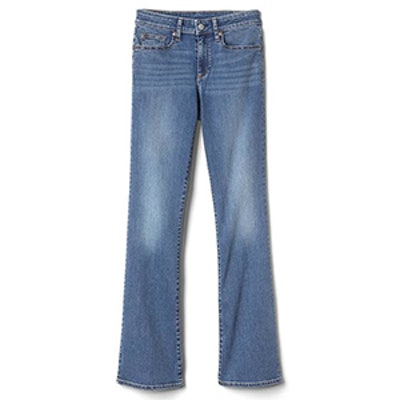 Mid-Rise Curvy Perfect Boot Jeans
