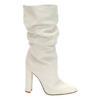 Larua Slouchy Leather Knee Boot