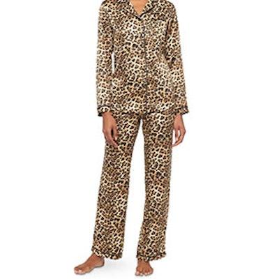 Women's Satin Pajama Set