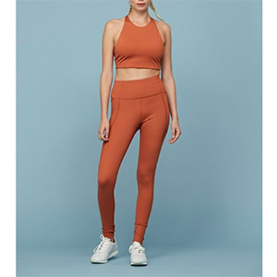 Toasted Apricot Girlfriend High-Rise ¾ Legging