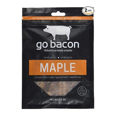 Go Bacon Premium Uncured Maple Bacon Jerky