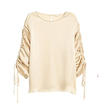 Blouse with Drawstrings
