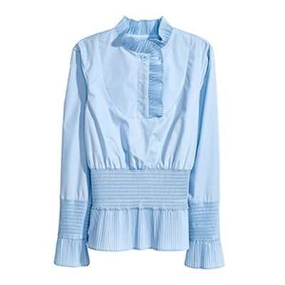 Smocked Blouse
