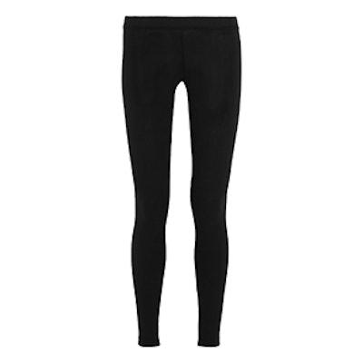Stretch-Pima Cotton Jersey Leggings
