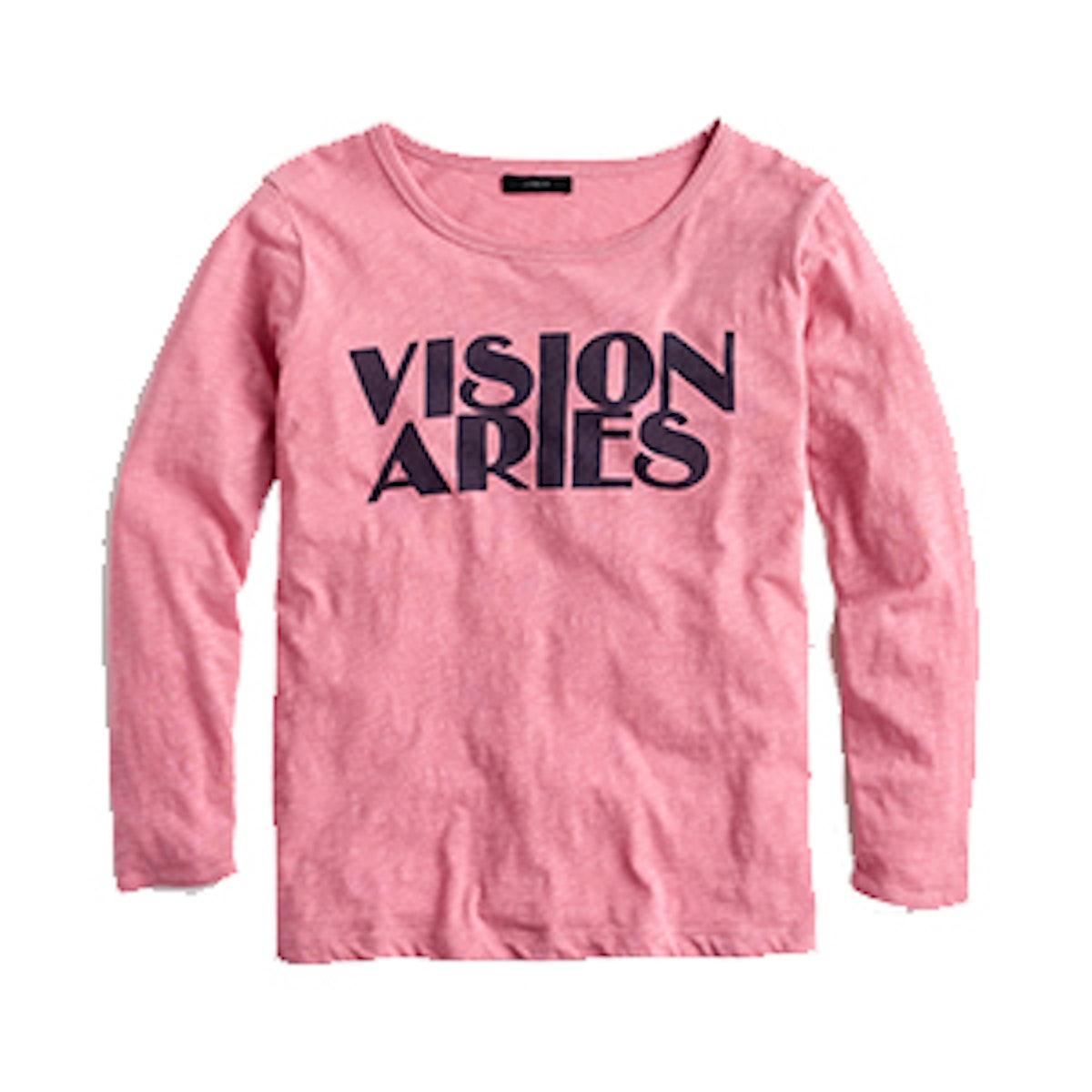 """Horoscope T-shirt in """"Aries"""""""