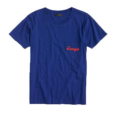 """Horoscope T-shirt in """"Scorpio"""""""
