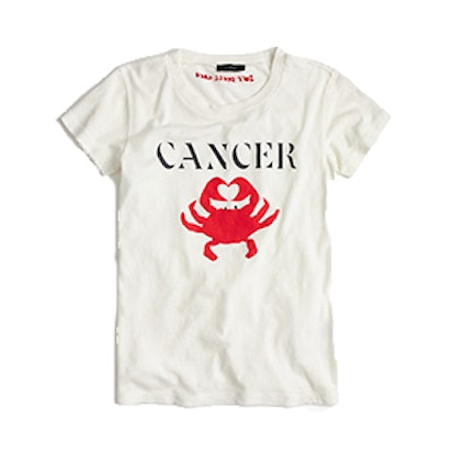 "Horoscope T-shirt in ""Cancer"""