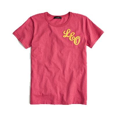 "Horoscope T-shirt in ""Leo"""