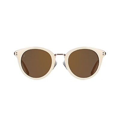 Potrero Retro Round Sunglasses
