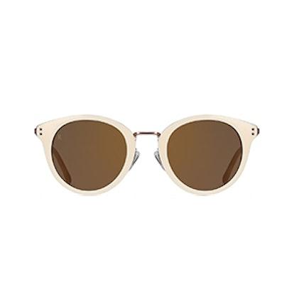 Potrero Retro Round Sunglasses