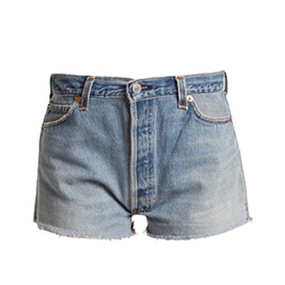 RE/DONE | LEVI'S The Short Mid-Rise Denim Shorts