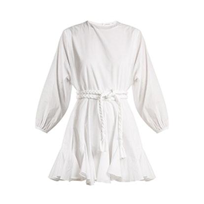 Ella Belted Cotton Dress