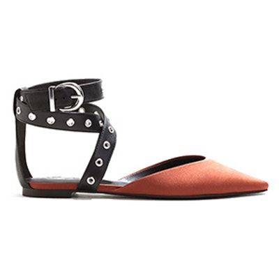 Ankle-Cuff Pointed Toe Shoes