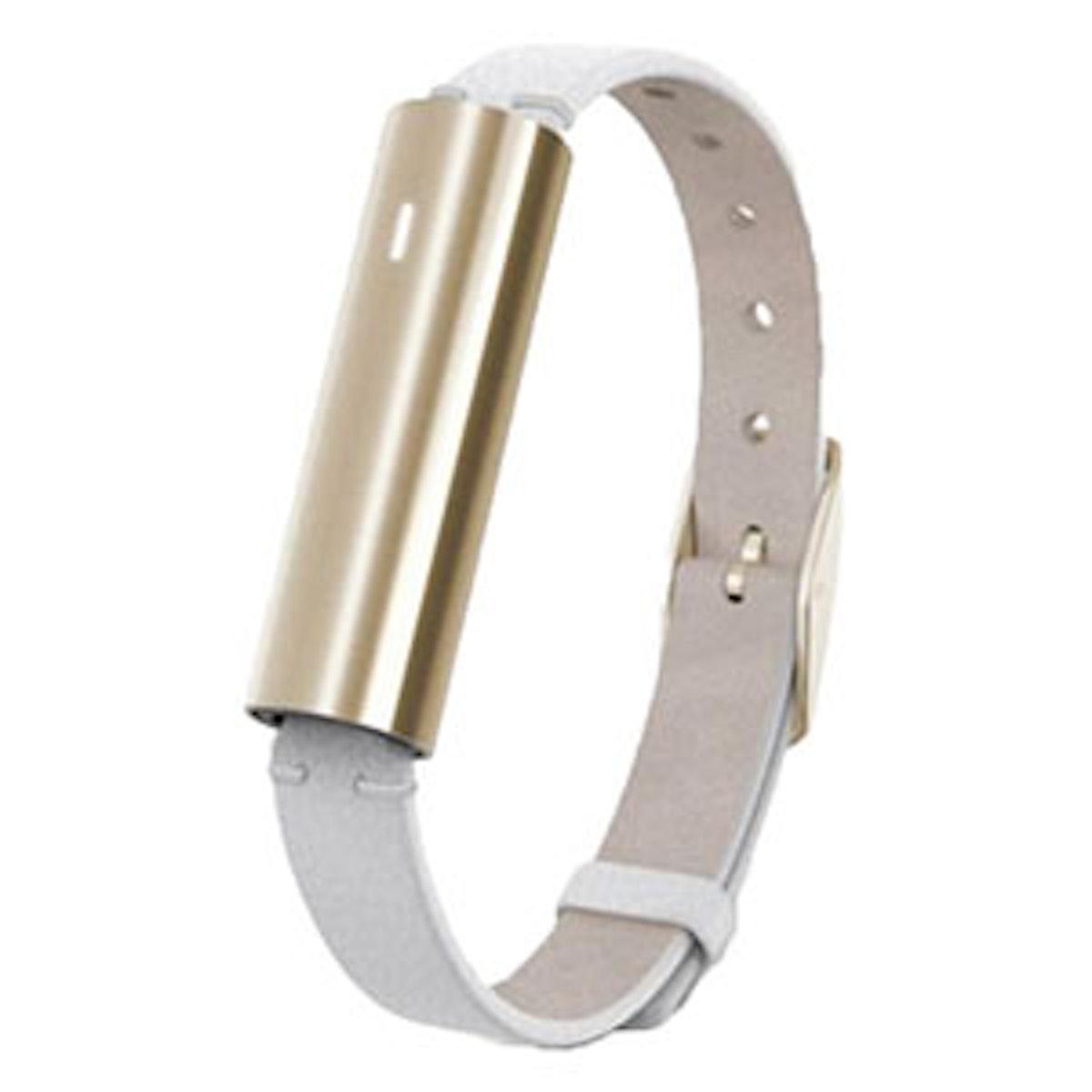 Ray Goldtone Stainless Steel Fitness & Sleep Tracker
