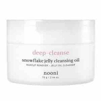 Memebox Nooni Snowflake Jelly Cleansing Oil
