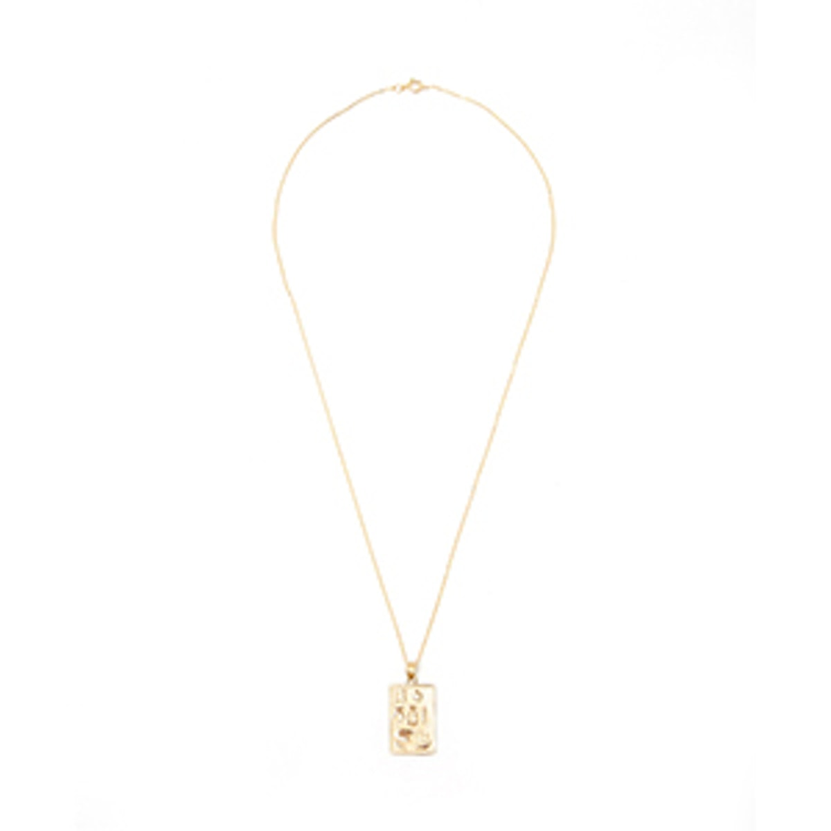 14K Lucky Charm Necklace