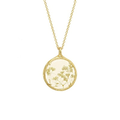 Small Botanical Necklace