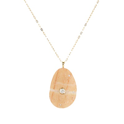 Pinny Pine Pendant Necklace