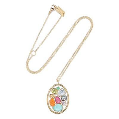 Rock Candy 18-Karat Gold Multi-Stone Necklace