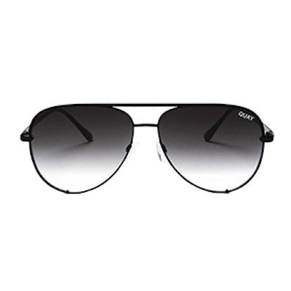 High Key Aviator Sunglasses, 62mm