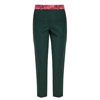 Roxburgh Slim-Leg Wool Trousers