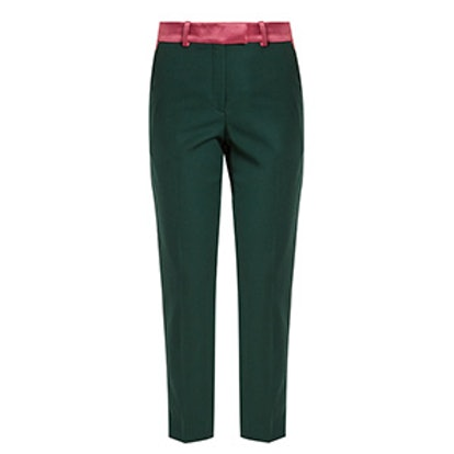 Roxburgh Slim-Leg Wool Trousers