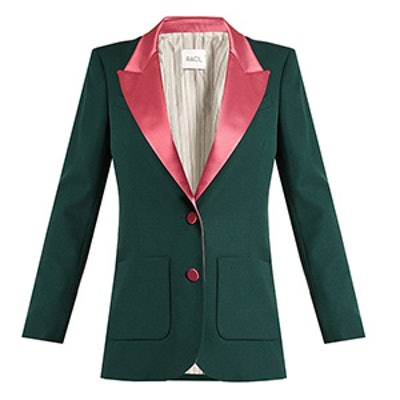 Yorkshire Single-Breasted Wool Blazer